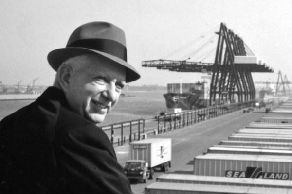 Malcolm McLean, inventeur du container